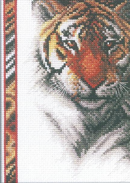 Janlynn Croce Kit Tigre Schemi Punto Croce Punto Croce Set