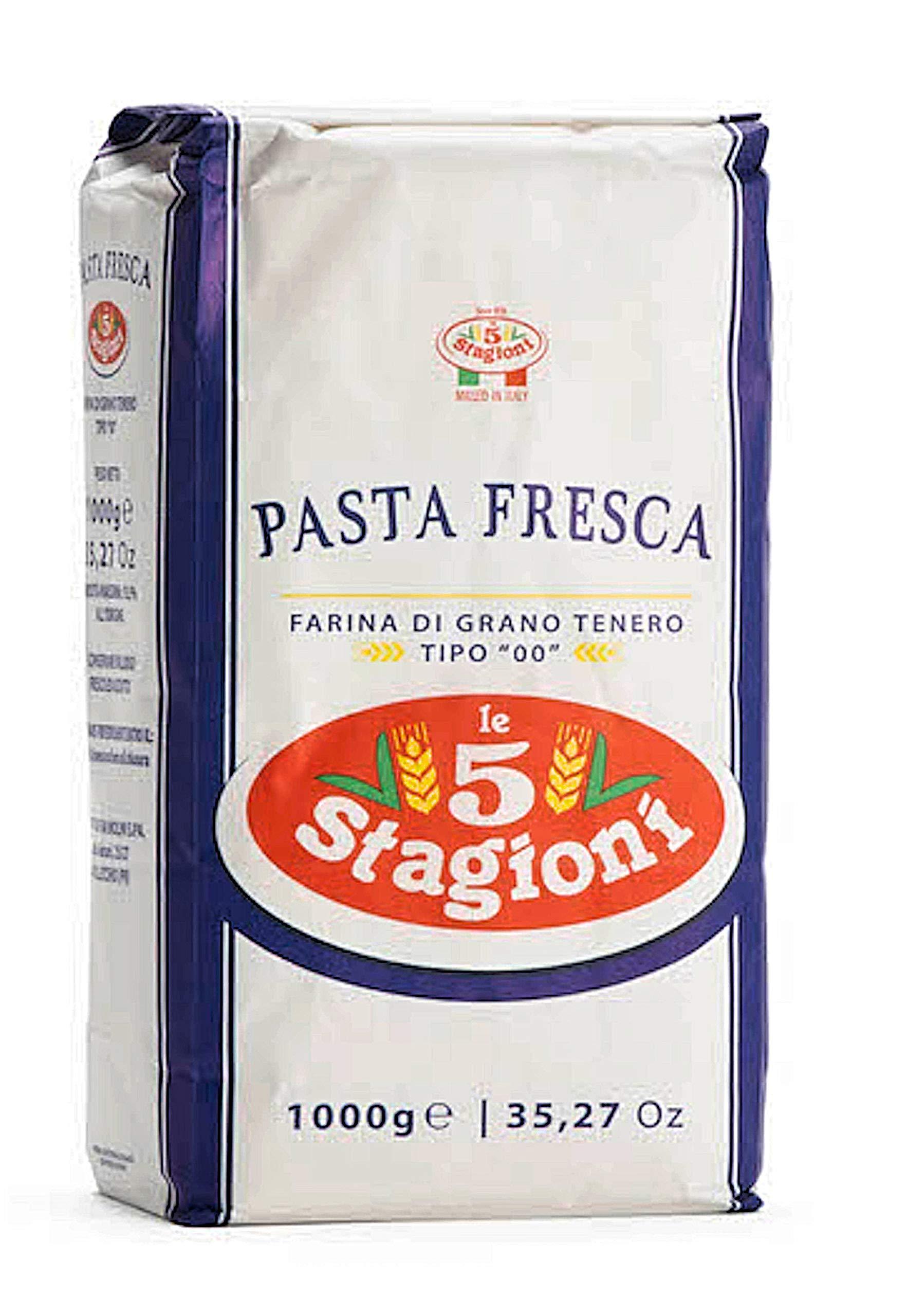 "Amazon.com : Le 5 Stagioni Pizza Napoletana Italian ""00"
