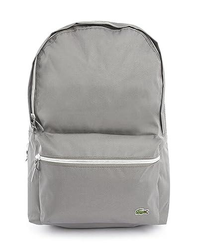 7d3cc21789 Lacoste - Backpacks - Men - Grey Backpack for men - TU: Amazon.co.uk ...