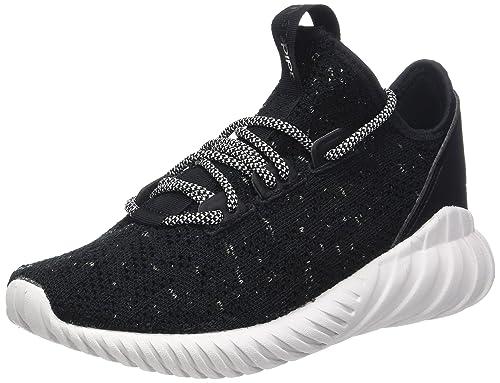 adidas Tubular Doom Sock PK, Scarpe da Fitness Bambino, Nero (Negbás/Ftwbla