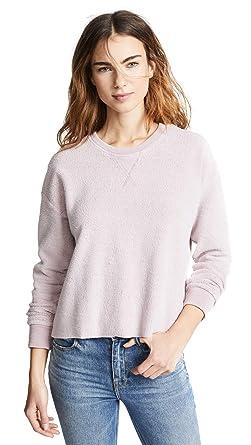 Amazon.com  Splendid Women s Plush Active Sweatshirt  Clothing 628f42148e