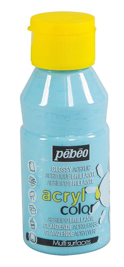 Pébéo 384133 Acrylcolor Peinture Bleu Pastel 135 X 7 X 7 Cm Amazon