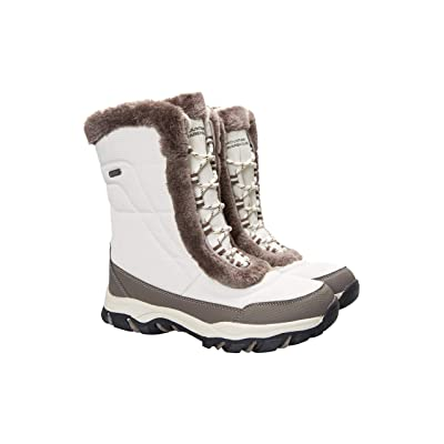 Mountain Warehouse Ohio Womens Winter Snow Boots - Ladies Warm Shoes   Snow Boots