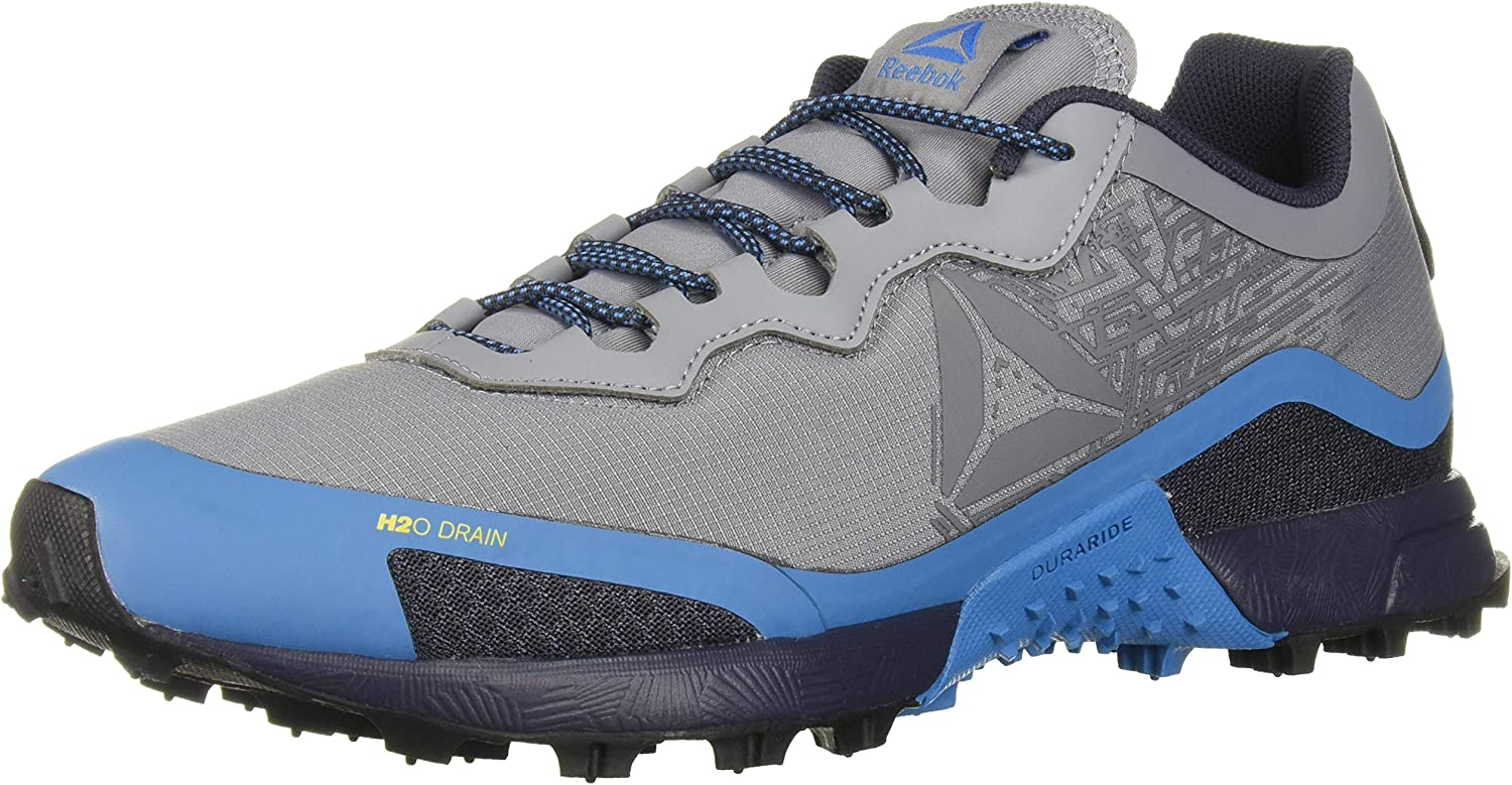 Reebok All Terrain Craze - Zapatillas de Trail para Hombre, Color Negro, Talla 48.7 EU, Color Gris, Talla 45.5 EU