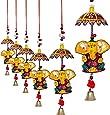 Jaipuri haat Decorative Ganesh door Hanging- Set of 2