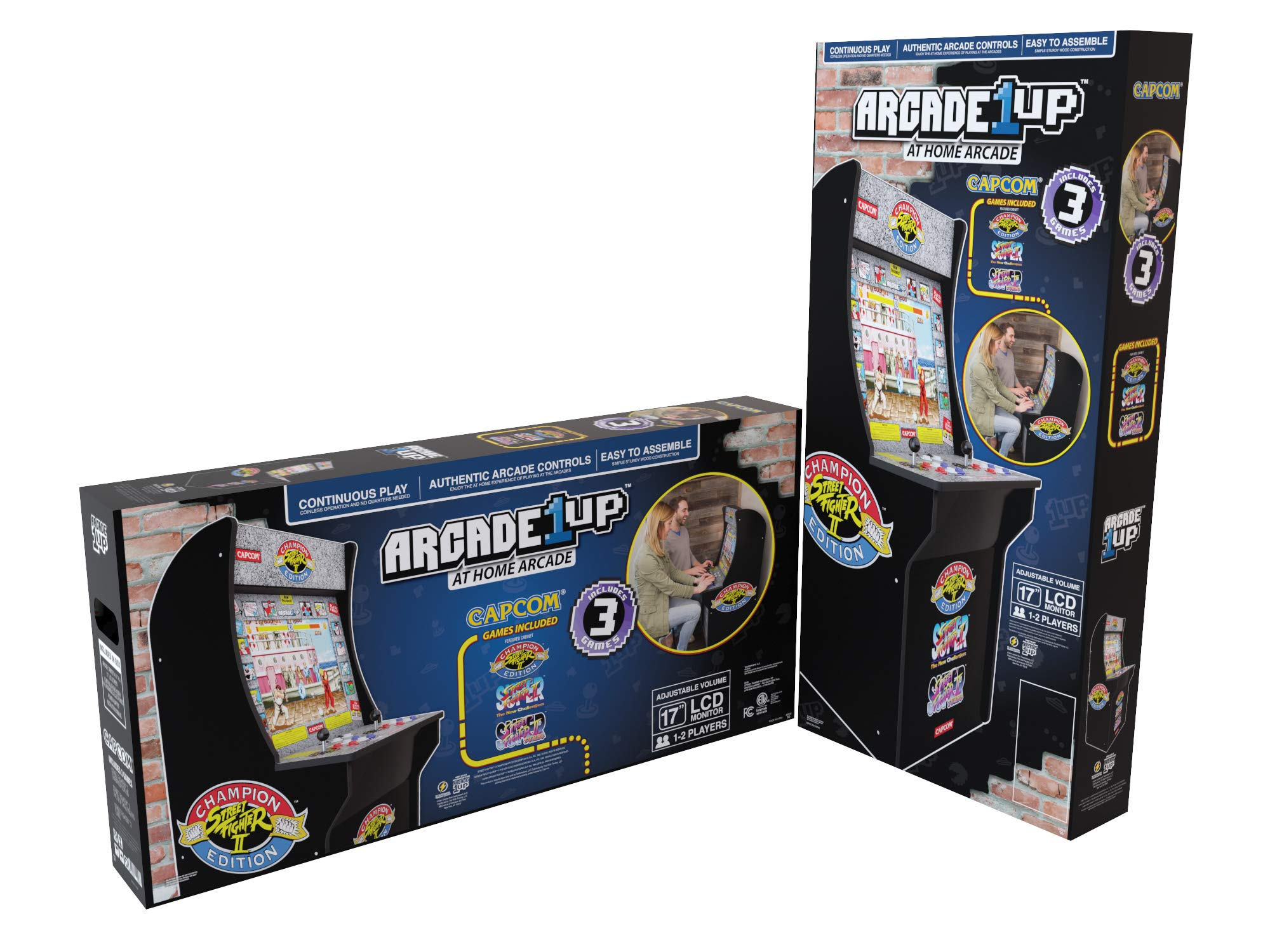 Arcade1Up Street Fighter - Classic 3-in-1 Home Arcade, 4Ft - Not Machine Specific by Arcade1Up (Image #5)