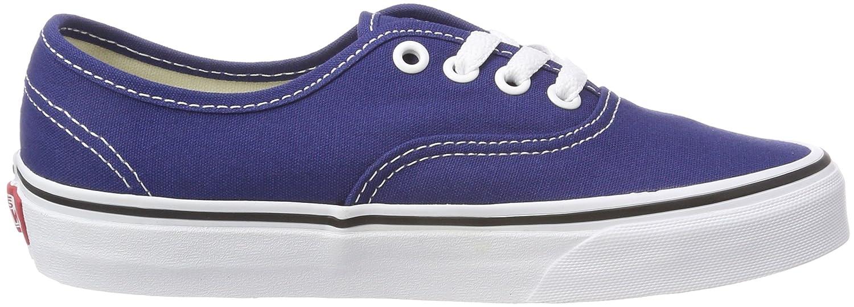 Vans Unisex Authentic Canvas Shoes B074HB2J39 8.5 M US Women / 7 M US Men|Estate Blue/True White