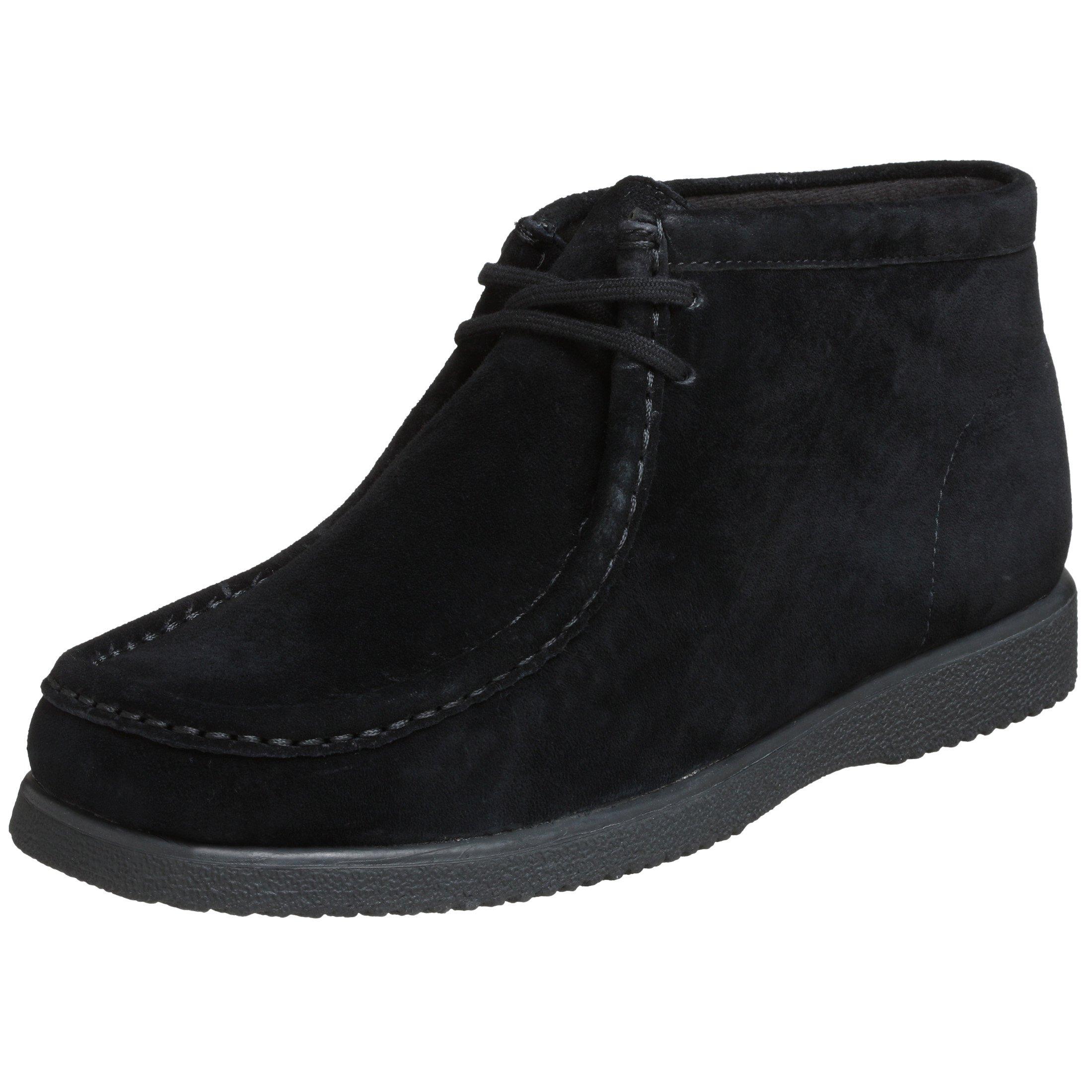Hush Puppies Men's Bridgeport Boot,Black Suede,9 M US