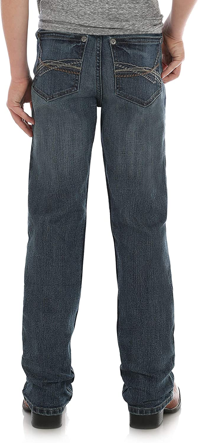 Wrangler Boys Big 20x Slim Fit Straight Leg Jean