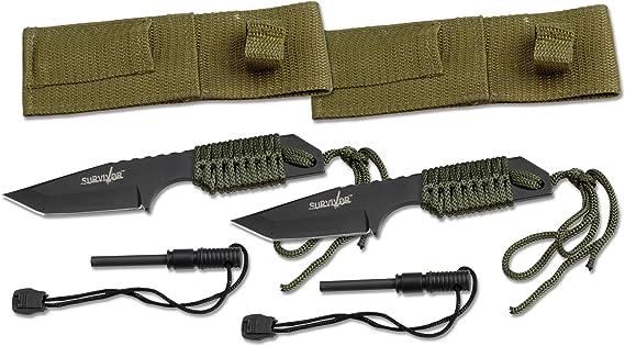 Survivor HK-106320-2 HK-106320 Series Fixed Blade Outdoor Knife