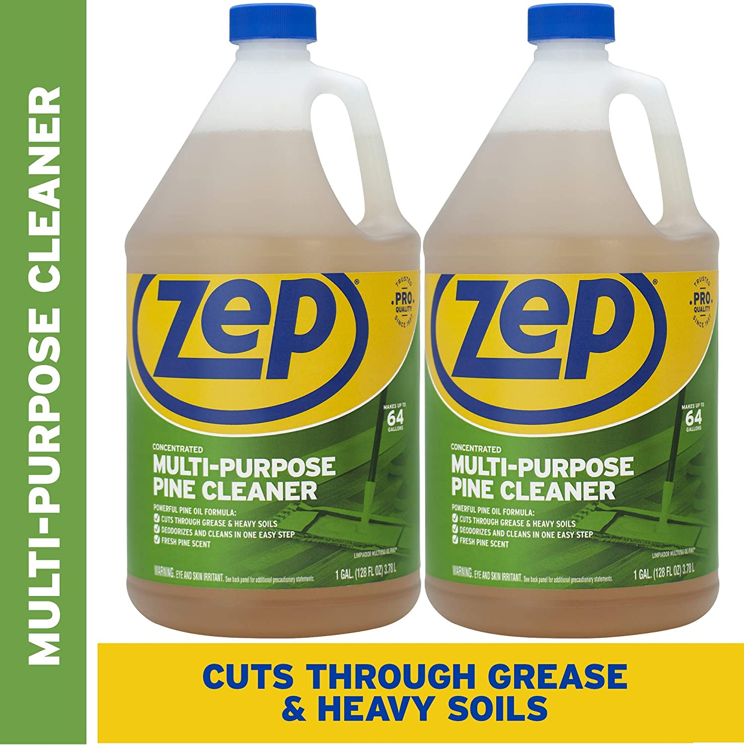 Zep Pine Multi-Purpose Cleaner 128 ounce (Pack of 2)