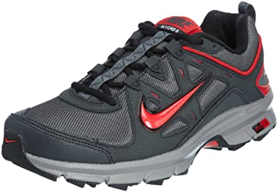 7b2e8c1d0b0 Nike Air Alvord 9 WS Dark Grey Red 2012 New Mens Trail Running Shoes 443843-