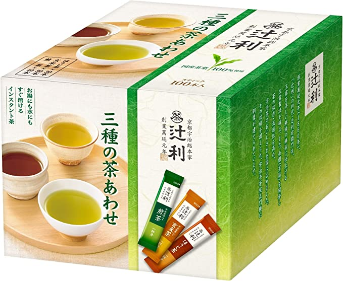 辻利インスタント三種の茶あわせ100P