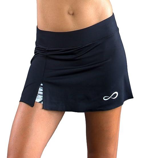 Endless Mesh Falda de Tenis, Mujer, Negro, L: Amazon.es: Ropa y ...