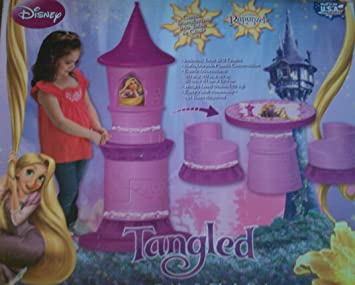 Amazon.com: Disney Tangled Transforming Castle Table and Chair Set: Baby