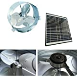 Amazon Com Rand Solar Powered Attic Gable Fan 27 Watt
