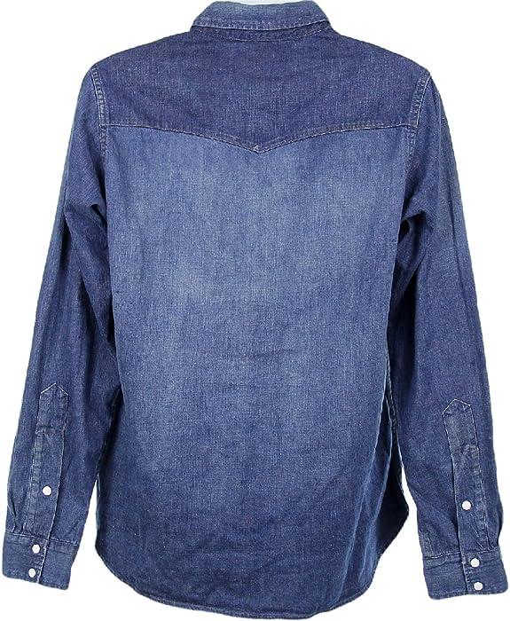 a40b65631e Chimala for J Crew Denim Western Shirt Sz S Style 87740 Long Sleeve Shirt