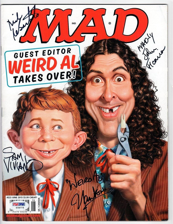 Weird Al 2015 NEW Mad Magazine #533