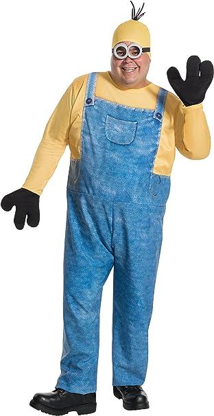 Rubies Mens Plus Size Despicable Me Minion Kevin Costume