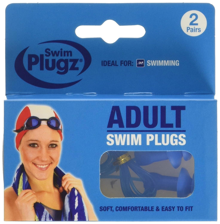 6 Packs 12 Pairs Hush Plugz Swim Plugz Adult Swim Ear plugs Swimming Earplugs
