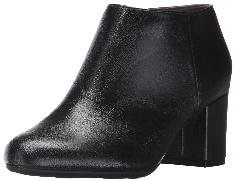 LifeStride Women's Parigi Ankle Bootie B06XRT53F4 8.5 W US|Black
