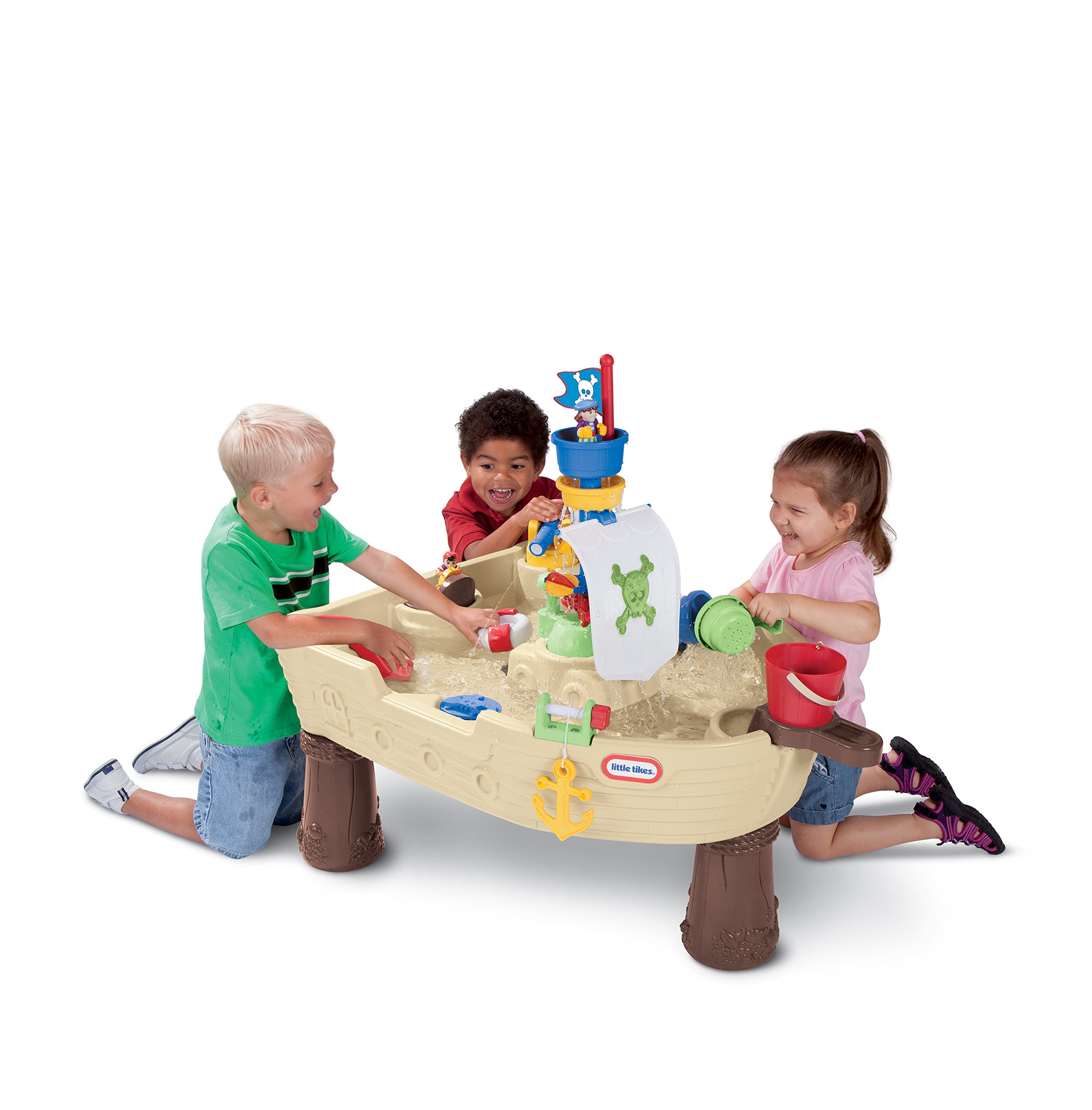 Little Tikes Anchors Away Pirate Ship Water Table 6