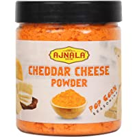 Ajnala Cheddar Cheese Powder in Shaker Jar Perfect for Pop-Corn, Making Cheese Sauce for Nachos, Sprinkling on French Fries ( Available in 100gm, 200gm, 500gm & 1kg ) (100)