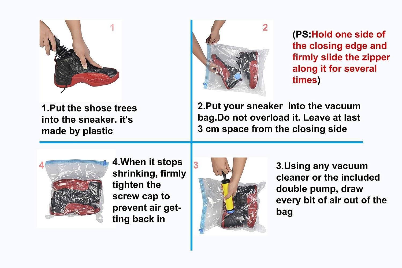 6ec669cdc39 Amazon.com  3Tyto Sneakers collection bag Shoe care set vacuum shoe bags  -Professional Shoe collecting   care suit for AIR ...