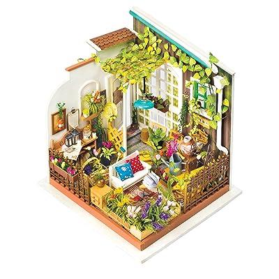 Fat Brain Toys DIY Miniature Model Kit: Poppy's Garden: Toys & Games