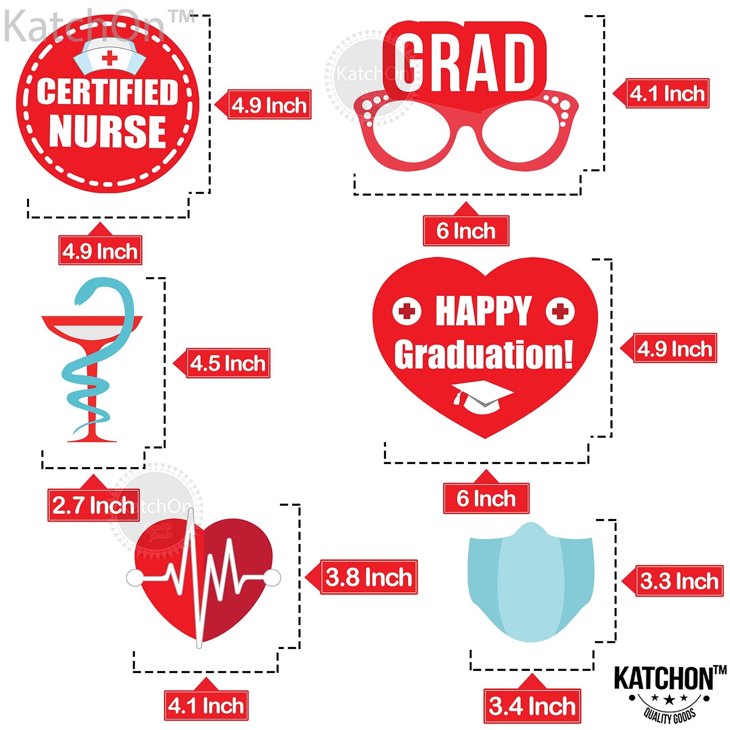 Details about  /Nurse Graduation Photo Booth Props Pack of 33Great Graduation Decoration...