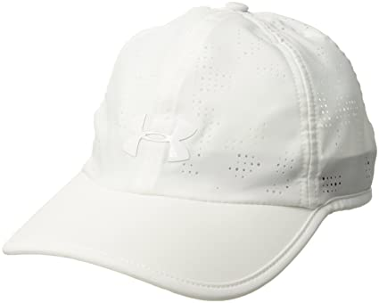 7e2cf26b7bd21 ... clearance under armour womens perforated golf cap white 100 white one  size f9a73 60875