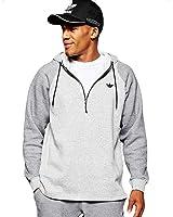 adidas Originals Men's Sport Luxe Twill Fleece Trefoil Hoodie