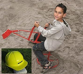 Original Metall Sandbagger Sitzbagger