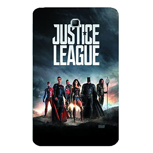 Samsung Galaxy Tab 4 T230 T231  7 inch  Justice League 3 Uv Printed Back Cover by Videotronix Mobile Phone Cases   Covers