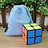 New MoYu WeiPo Cube Speed Puzzle 2x2x2 Magic Cube Puzzle cube noir + Un sac Moyu