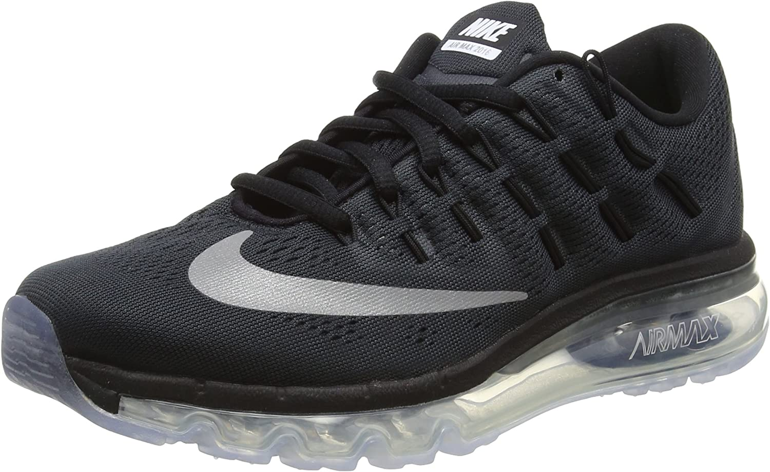 Nike Air MAX 2016 (GS), Zapatillas de Running para Hombre, Negro (Black/Reflect Silver), 40 EU: Amazon.es: Zapatos y complementos