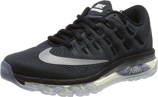aborto Embotellamiento Detector  Nike Air MAX 2016 (GS), Zapatillas de Running para Hombre, Negro  (Black/Reflect Silver), 40 EU: Amazon.es: Zapatos y complementos