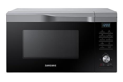 Samsung Mc28M6055CS/EC - Horno-Microondas con grill, 900W/1500W/2100W, 28 litros, interior de cerámica, ventana EasyView y función horno hasta 200º C, ...
