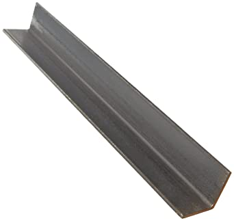 0.25 Wall Thickness 3 Leg Lengths Rounded Corners ASTM A36 Mill Equal Leg Length A36 Steel Angle 72 Length Finish Unpolished