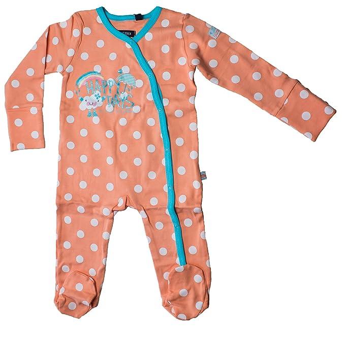 Blue Seven - Pelele - para bebé niña Naranja MELONE ORIG: Amazon.es: Ropa y accesorios