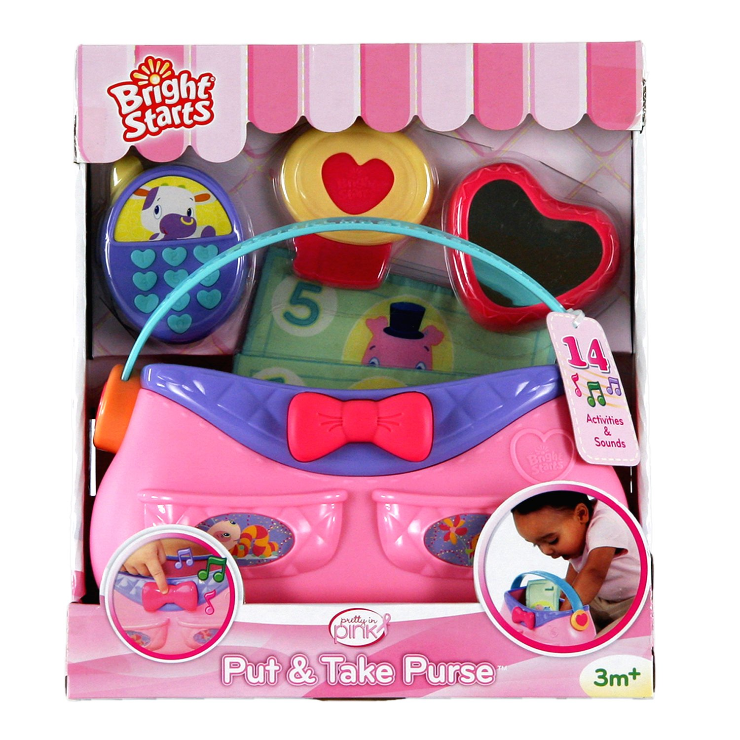 Bright Starts Pretty in Pink Put and Take Purse by Bright Starts (Image #6)