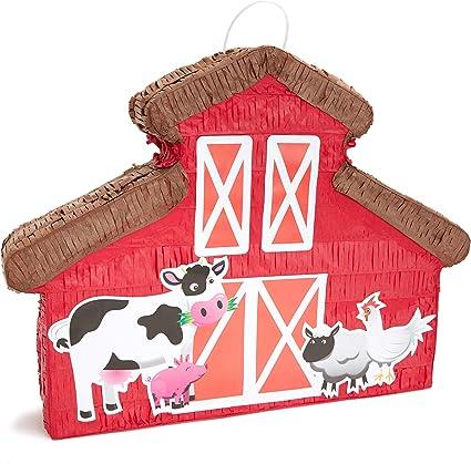 Pinata De Barnyard Para Granja O Fiesta De Campo 17 X 12 75 Pulgadas Toys Games