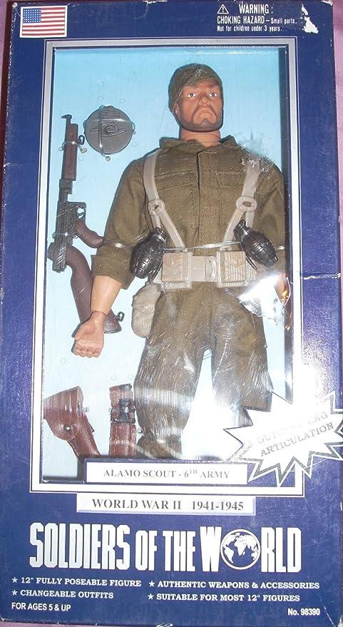 Amazon.com: Soldados de la montaña de mundo WWII US Army ...