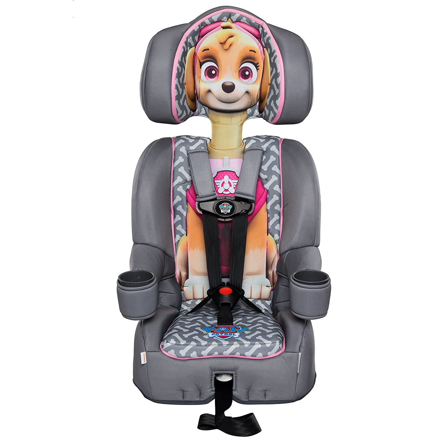 KidsEmbrace Paw Patrol Booster Car Seat Nickelodeon Marshall Combination 5 Point Harness