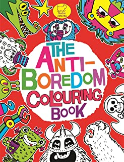 the anti boredom colouring book buster activity - Kids Colouring Book