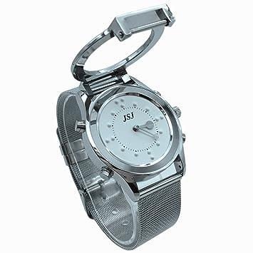 Reloj para Caballero, con Pantalla Braille y Voz En español: Amazon.es: Deportes y aire libre
