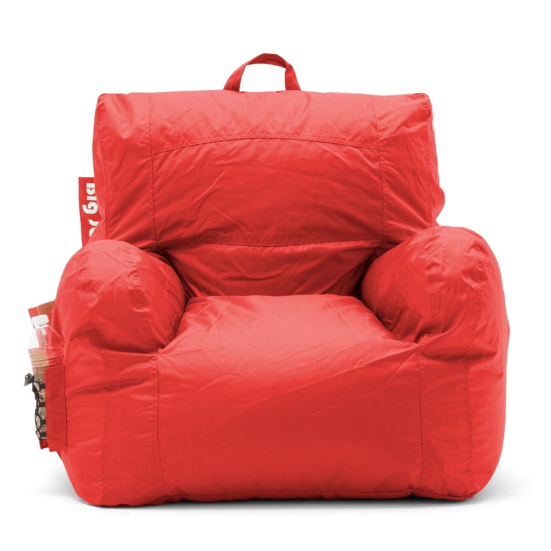 Amazon Big Joe Dorm Bean Bag Chair Flaming Red Kitchen & Dining