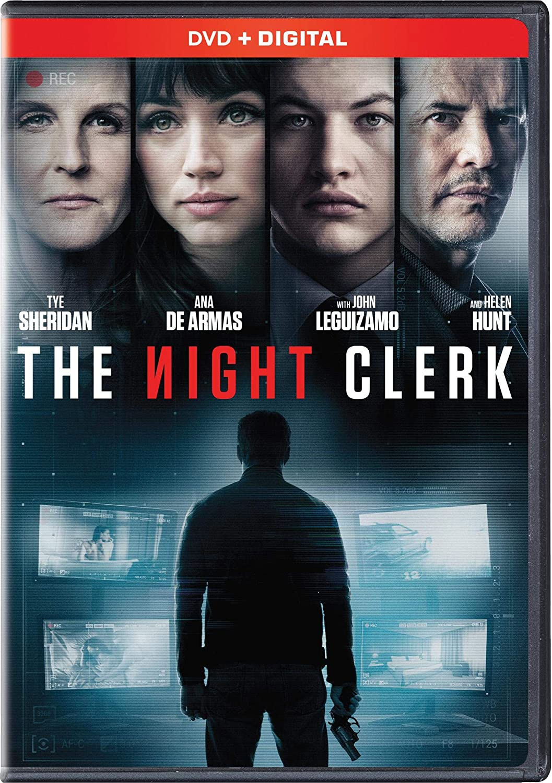 Amazon.com: The Night Clerk [DVD + Digital]: Tye Sheridan, Ana De Armas,  Helen Hunt, John Leguizamo, Michael Cristofer: Movies & TV