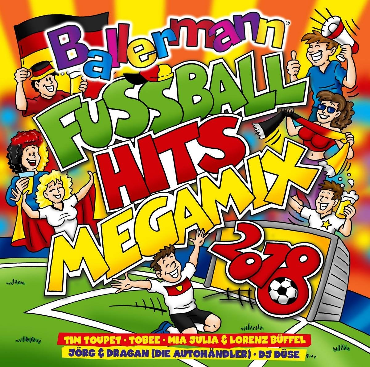 VA-Ballermann Fussball Hits Megamix 2018-DE-2CD-FLAC-2018-VOLDiES Download