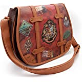Harry Potter Railway Sac bandoulière, 34 cm, Marron (Marrón)